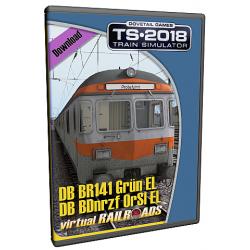 DB BR141 / BDnrzf Orange-Silber ExpertLine