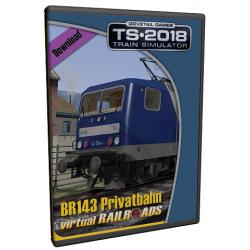 DB BR143 Privat Railroads ExpertLine