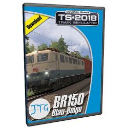 JTG Scenariopack BR150 Blau-Beige