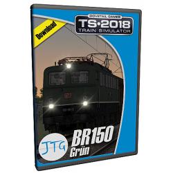 JTG Scenariopack BR150 Gruen
