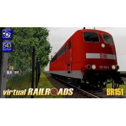DB BR151 VRot