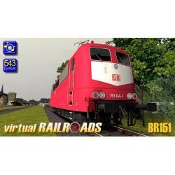 DB BR151 ORot
