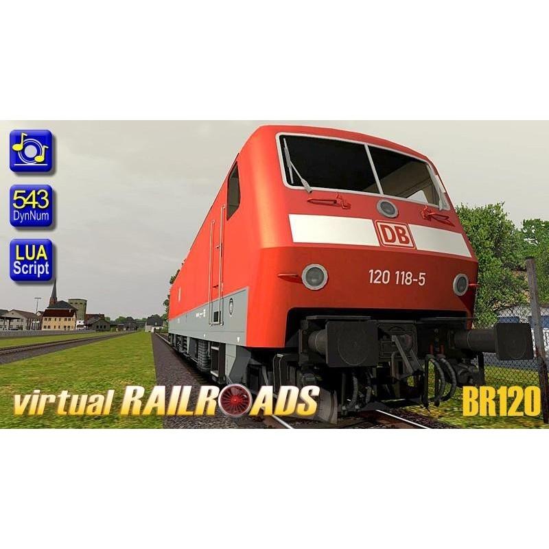 DB BR120 VRot