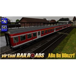 DB Nahverkehrswagen VRot