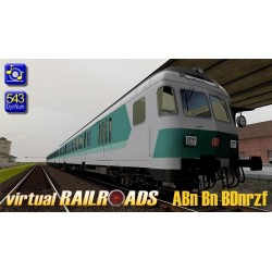 DB Nahverkehrswagen Mintgruen