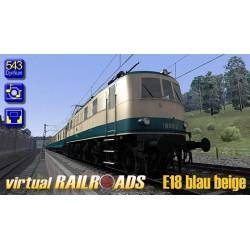 DB BR118 / E18 Blau-Beige