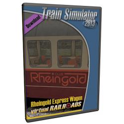 Rheingold Express Wagen