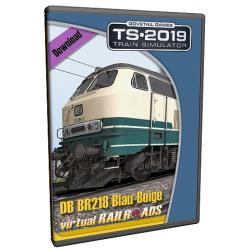 DB BR218 Blue-Beige