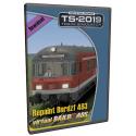 Repaint1 DB Bnrdzf VRot Diesel / BR218