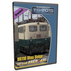 DB BR110 Blau-Beige ExpertLine