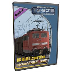 DB BR151 VRot ExpertLine