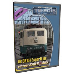 DB BR151 Blau-Beige ExpertLine